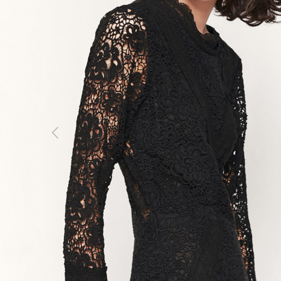 30f6623931 Maje RENITA lace guipure dress NWT